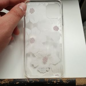"""kate spade Accessories - Case kate spade for iphone 11 6.1""""clear-white used"""